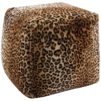 Fur Fl102 Brown 16 X 16 X 17 Poufs Product Image