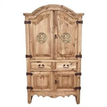 Small Sierra Armoire W/ Star
