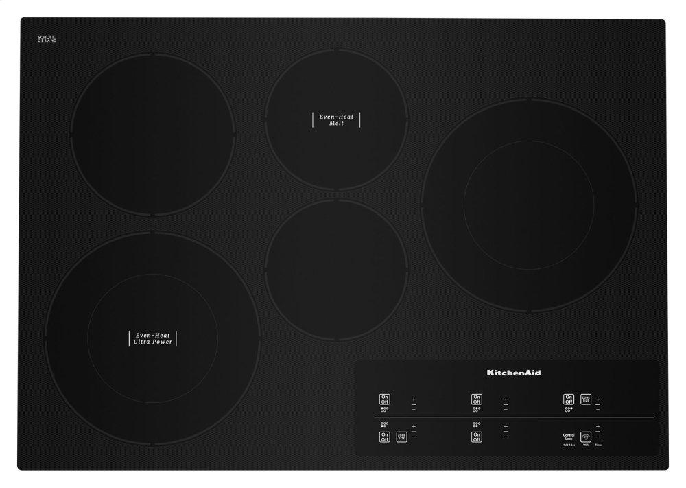Kces950hbl Kitchenaid 30 Electric Cooktop With 5 Elements