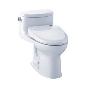 Supreme® II WASHLET®+ S350e One-Piece Toilet - 1.28 GPF - Cotton