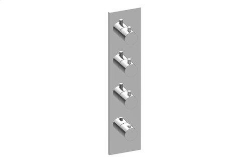 Square M-Series Valve Trim with Four Handles