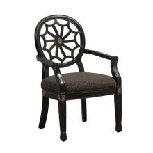 Black Spider Back Chair