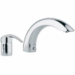 Chrome 2-hole Single-Lever Bath Combination