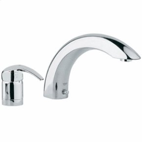 Chrome 2-hole Single-Lever Bath Combination