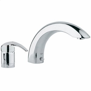Chrome 2-hole Single-Lever Bath Combination Product Image