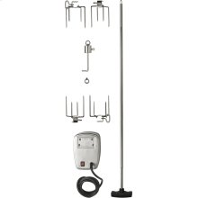 Commercial Grade Rotisserie Kit for Large Grills