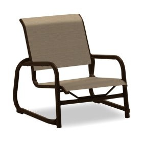 Reliance Contract Sling Stacking Sled Base Sand Chair