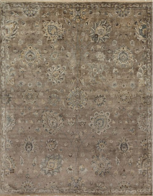 Feather / Gray Rug