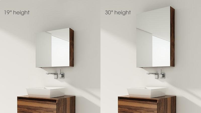 Mirrors Surface Mount The M Collection Hidden