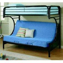 Twin/futon Metal Bunk Bed