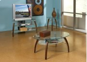 Atlantis TV Stand Glass Top Product Image