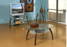 Atlantis TV Stand Glass Top