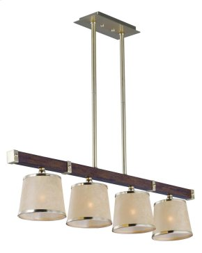 Maritime 4-light Linear Pendant