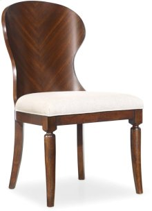 Palisade Wood Back Side Chair