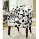 Playful Bird and Branch Accent Chair Product Image