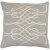 "Additional Leah LAH-003 22"" x 22"" Pillow Shell with Polyester Insert"
