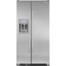 "69""(h)Cabinet Depth Side-By-Side Refrigerator with Dispenser Refrigeration Jenn-Air"