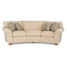 Vail Fabric Conversation Sofa