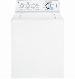 GE 3.9 (DOE) cu.ft. / 4.5 (IEC) cu. ft. stainless steel capacity washer