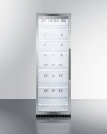 Commercial Beverage Merchandiser With 12.6 CU.FT. Capacity, Digital Thermostat and Self-closing Door With A Left Hand Swing