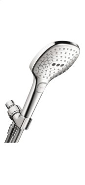 Chrome Raindance Select E 120 AIR 3-Jet Handshower Set, 2.0 GPM