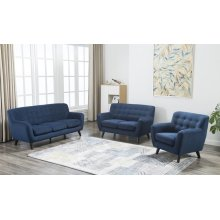 Edie Blue Sofa, Love, Chair, U3027