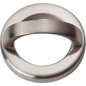 Tableau Round Base and Top 1 13/16 Inch - Brushed Nickel