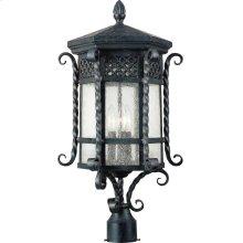 Scottsdale 3-Light Outdoor Pole/Post Lantern