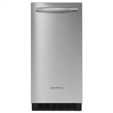 Stainless Steel KitchenAid® 15'' Automatic Ice Maker, Architect® Series II
