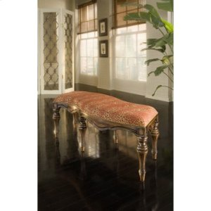 Serpentine Accent Bench - Frame Only