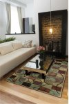 EXPRESSIONS XP01 BRN RECTANGLE RUG 7'9'' x 10'10''