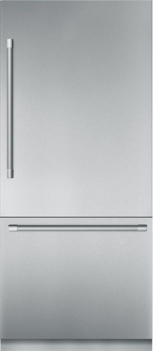 36-Inch Built-in Stainless Stell Professional Two Door Bottom Freezer