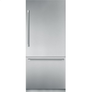Thermador36-Inch Built-in Stainless Steel Professional Two Door Bottom Freezer