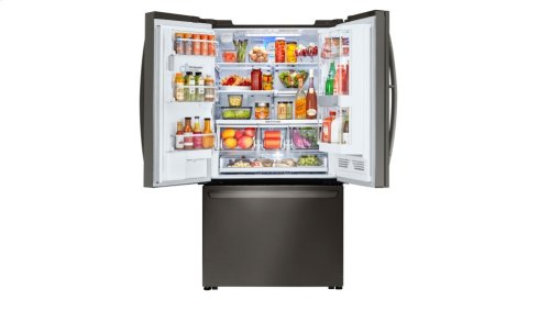 LG Black Stainless Steel Series 24 cu. ft. InstaView Door-in-Door® Counter-Depth Refrigerator