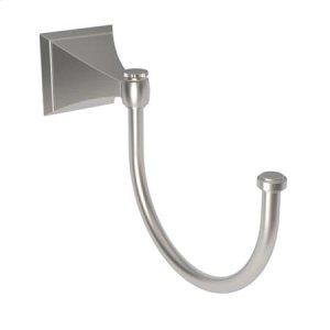 Satin Nickel Pivoting Towel Hook