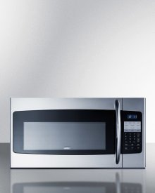 "30"" Wide Over-the-range Microwave In Stainless Steel"
