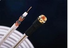 Direct Burial MVQuad RG6 RF and Video Cable in EZ-Pull Box - 500ft