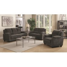 Northend Charcoal Two-piece Living Room Set