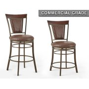 "Cecile Swivel Bar Chair 23""x20.5""x45.5"" Product Image"
