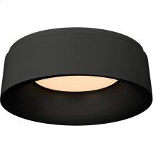 Visual Comfort BBL4094BLK Barbara Barry Halo 1 Light 11 inch Matte Black Flush Mount Ceiling Light