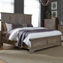 King California Panel Bed