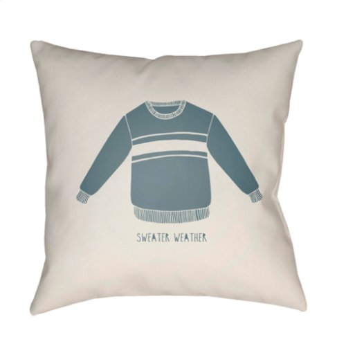 "Sweater Weather SWR-001 18"" x 18"""