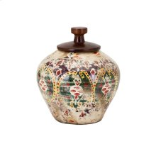 Kelis Small Lidded Vase