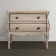 Classics by Bassett 2 Drawer Bombe Chest Product Image