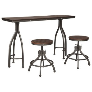 Ashley FurnitureSIGNATURE DESIGN BY ASHLEYRECT DRM Counter TBL Set(3/CN)