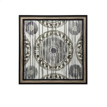 Aztec Print Textured and Framed