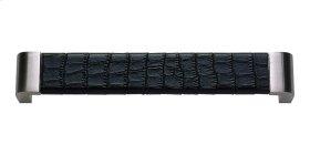 Paradigm Pull 6 5/16 Inch (c-c) - BN & Black Croc Leather