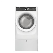 Front Load Perfect Steam Electric Dryer with 7 cycles - 8.0 Cu. Ft.