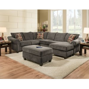 American Furniture Manufacturing 2800 - Dynasty Charcoal