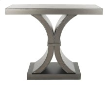 Dryden Console - Distressed Black